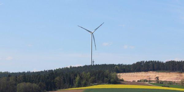Windpark Gebenbach Süßer Berg
